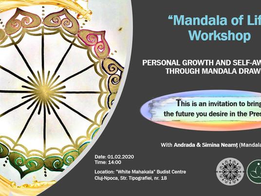 """""""Mandala of Life"""" - Workshop for Personal Growth and Self-Awareness through mandala drawing!"""