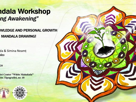 Create your own Spring Mandala!