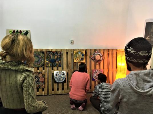 "Mandala Tales Exihibtion - Charity Night at ""White Mahakala"" Buddhist Center"