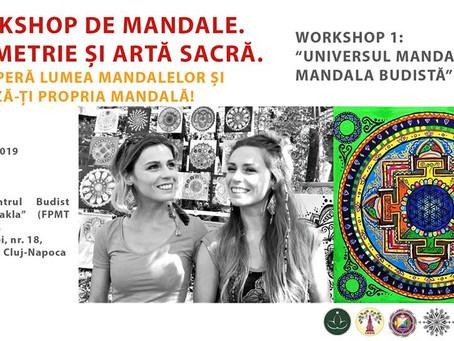 Mandala Workshop! Enter the Universe of Mandalas and learn more about Buddhist Mandala!