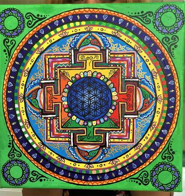 """""""Mandala Budistă"""""""