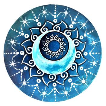 The Smiling Moon Mandala