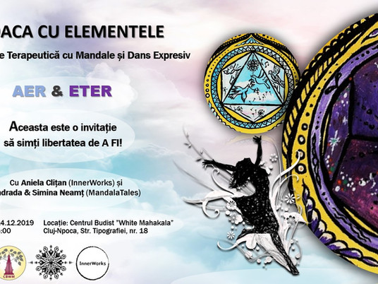 Upcoming Therapeutic Workshop with Mandalas & Expressive Dance!