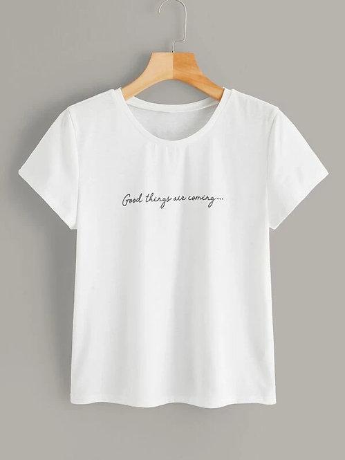 T-Shirt Blanca