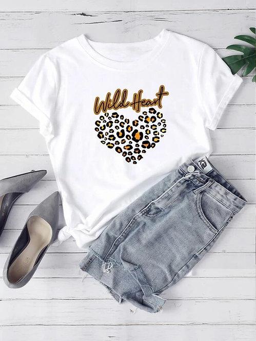 T-Shirt Blanca Heart