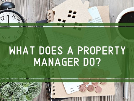 What is a property manager?