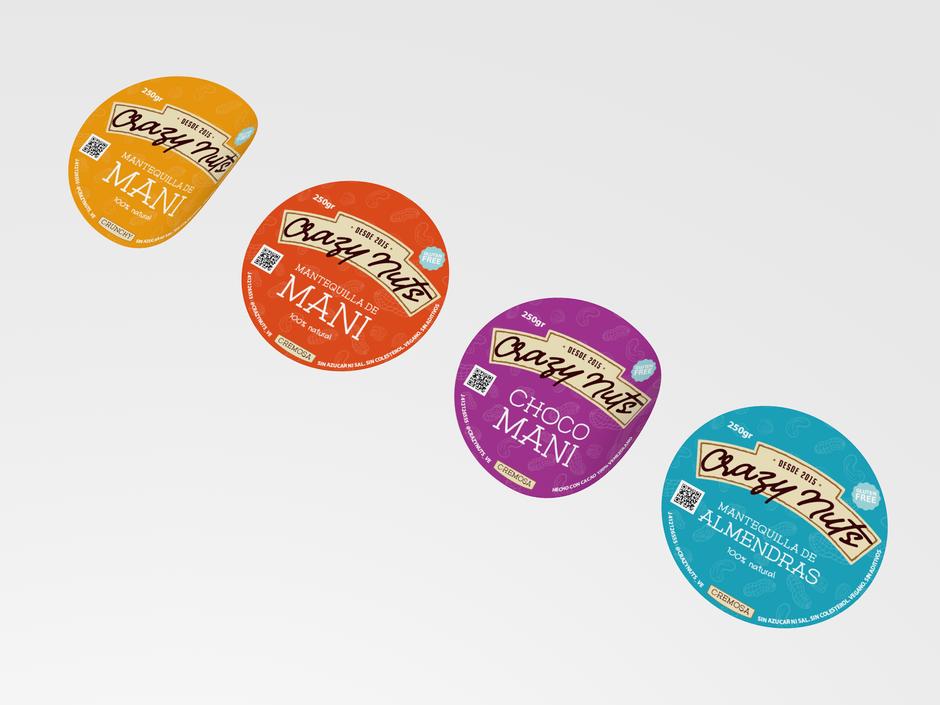 Etiquetas para otros productos de la marca
