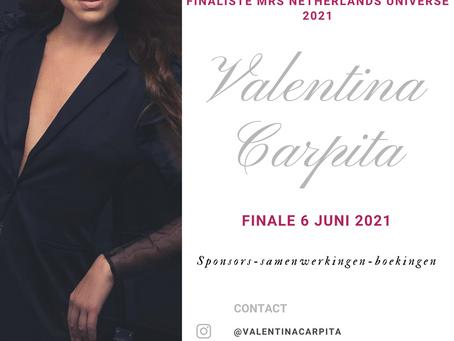 'Finalist Mrs Netherlands Universe 2021'