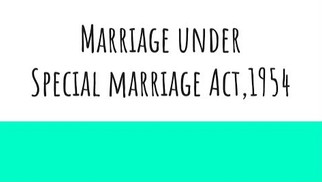 Section 7 of Special Marriage Act, 1954: Is Objection a tool for Suppression?