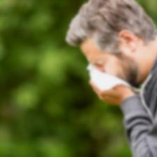 Senná rýma, chronická kašel, alergie