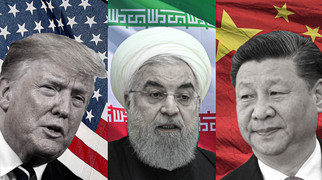 Entry of Iran in the US-China Animosity