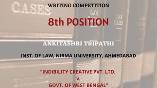 Indibility Creative Pvt. Ltd. vs. Govt. of West Bengal