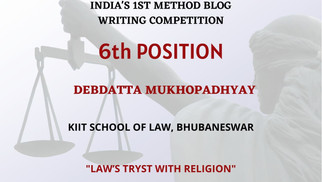 Law's Tryst With Religion