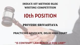 Is Contempt Law really a Dog-Law?