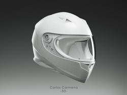 Casco_Frontal_Render_Whire_Color_Final