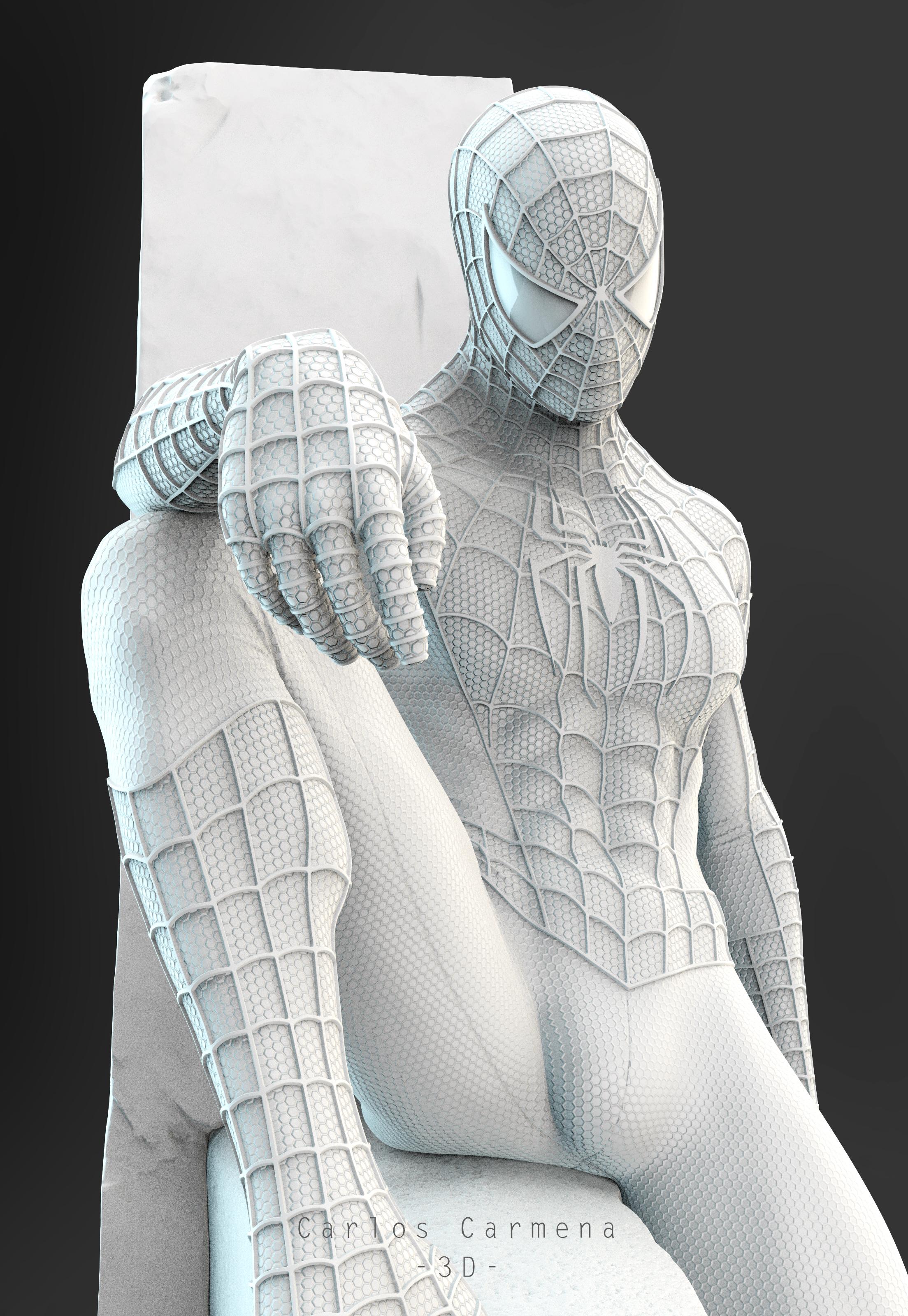 Proyecto Spiderman, Render 7.
