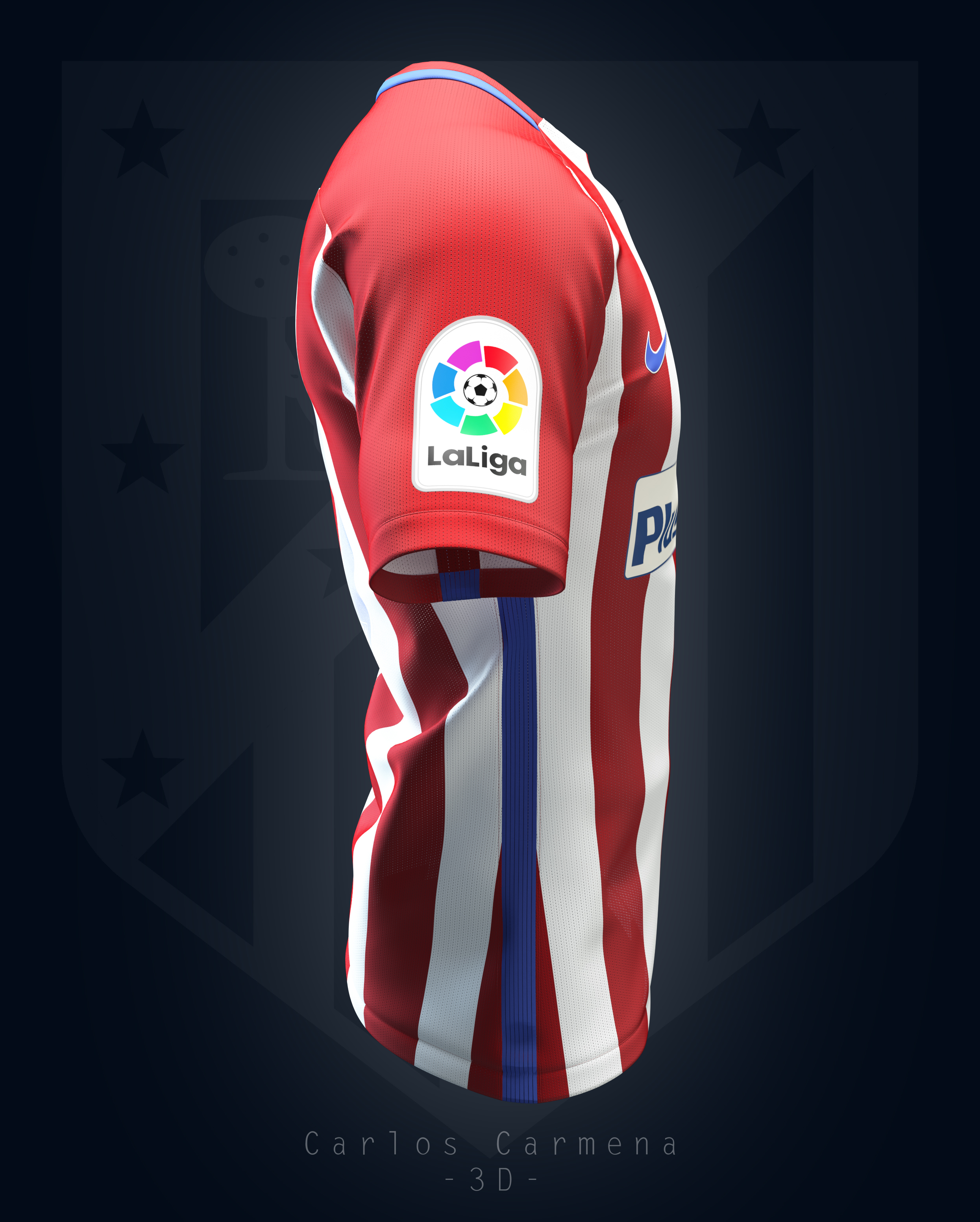 Atlético de Madrid home shirt