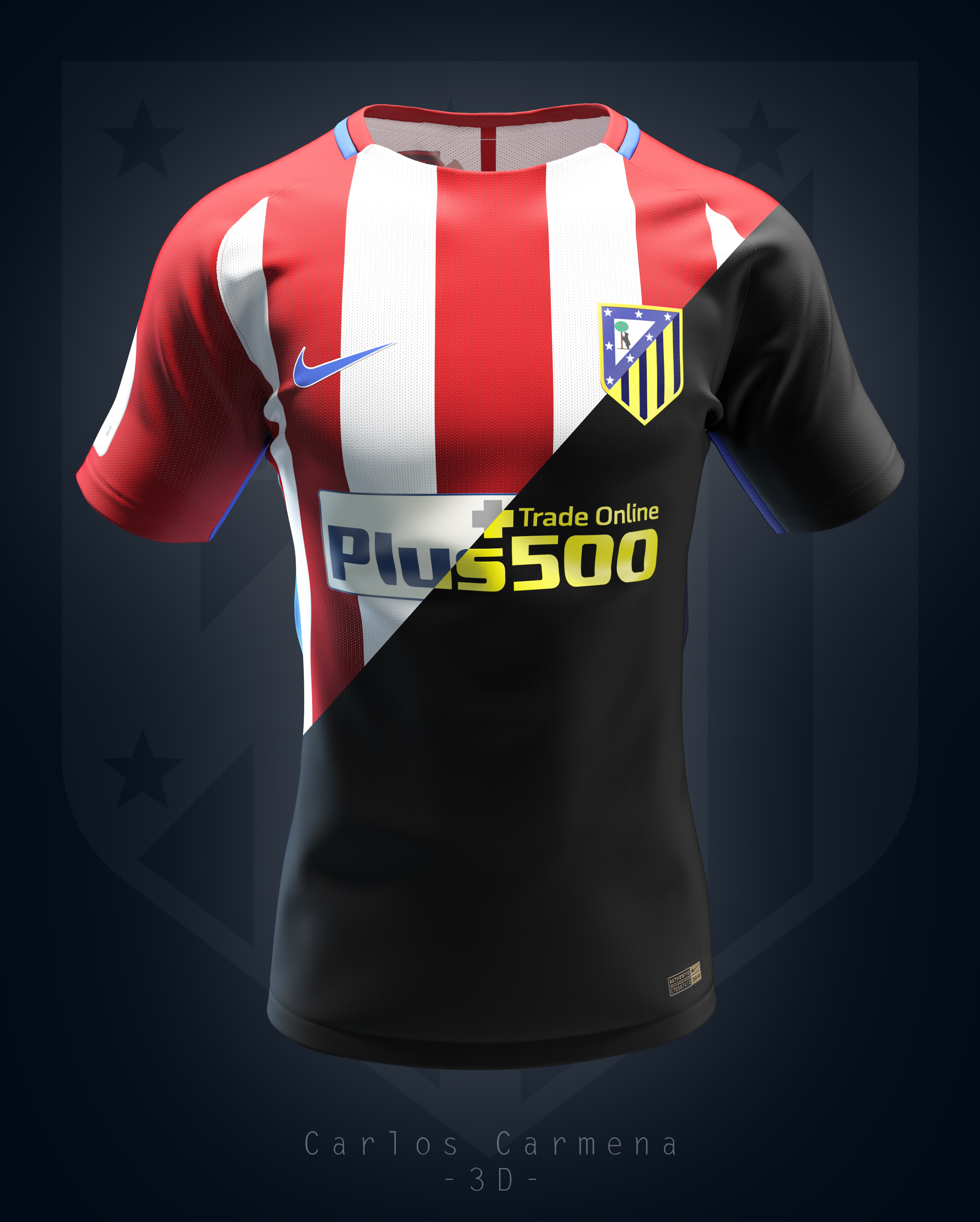 Atlético de Madrid shirt