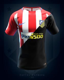 Atlético de Madrid shirt