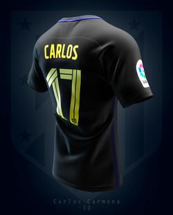 Atlético de Madrid away shirt