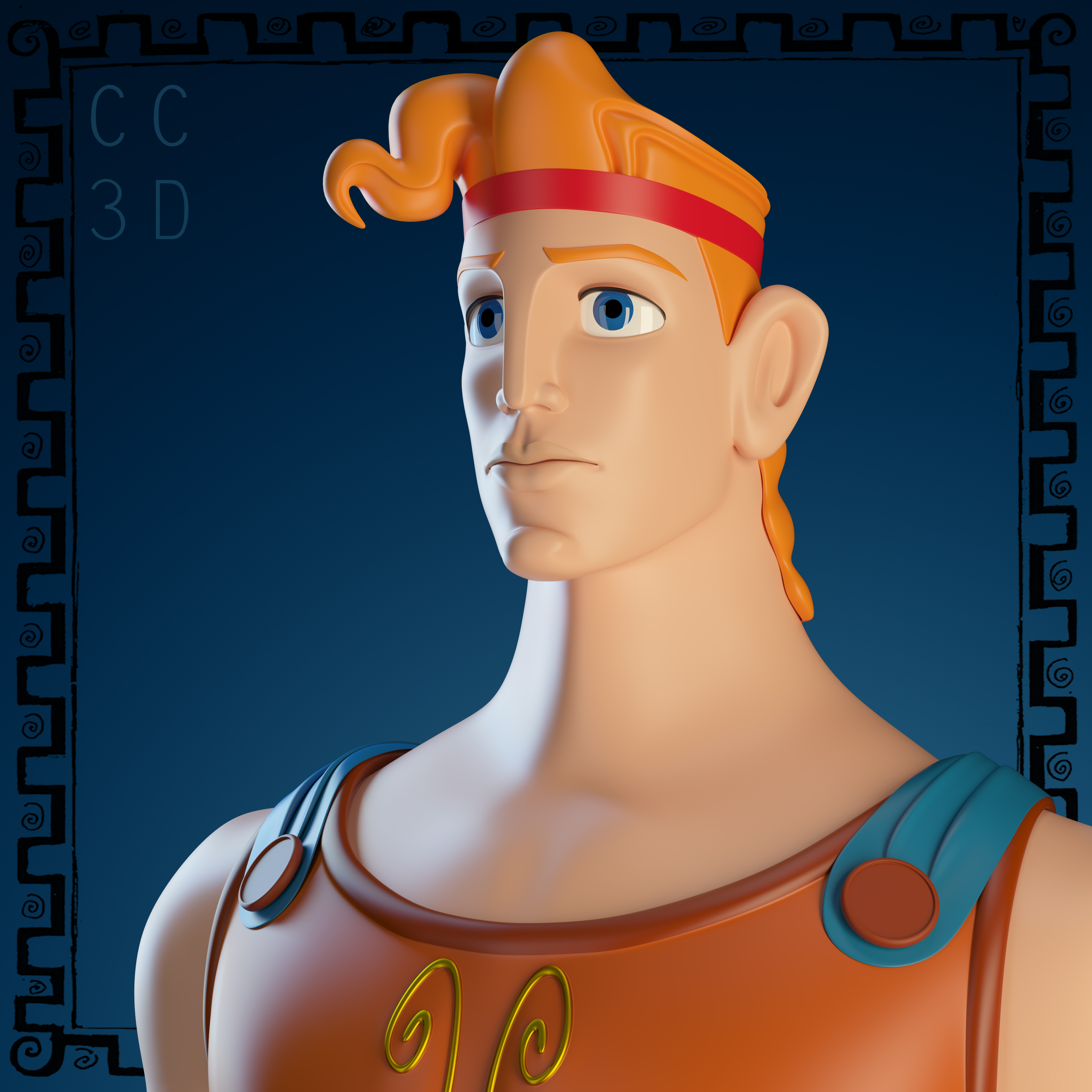 Hércules, render 2.