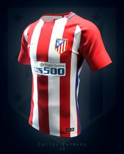 Atlético de Madrid home shirt