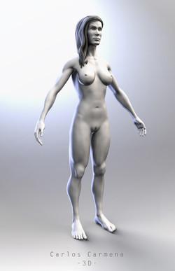 Mujer - Base anatómica