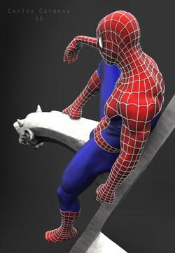 Proyecto Spiderman, Render 6 color.