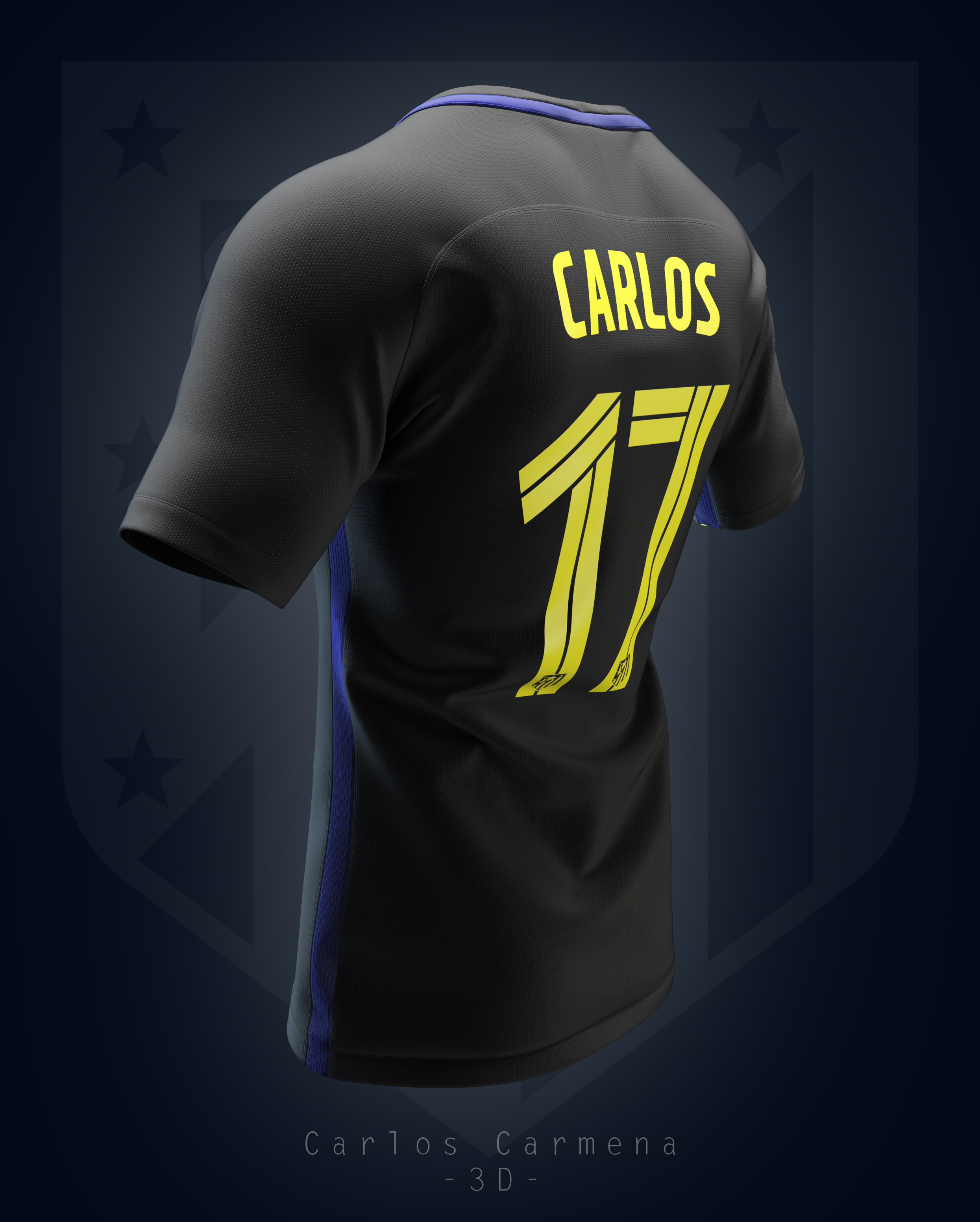 Atlético de Madrid away shirt