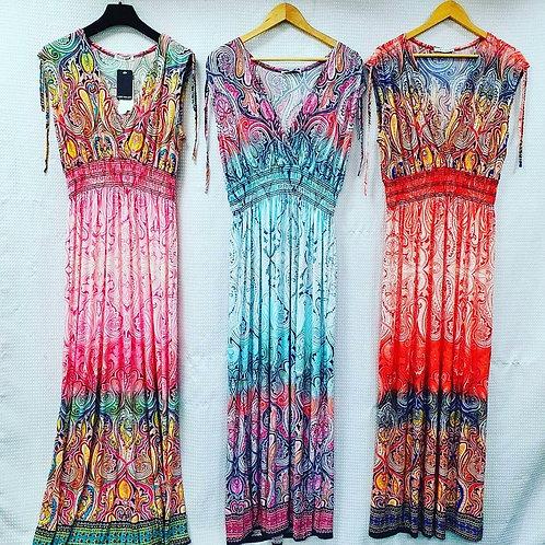 Batik sun dress
