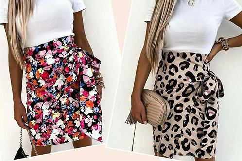 Sally wrap skirt