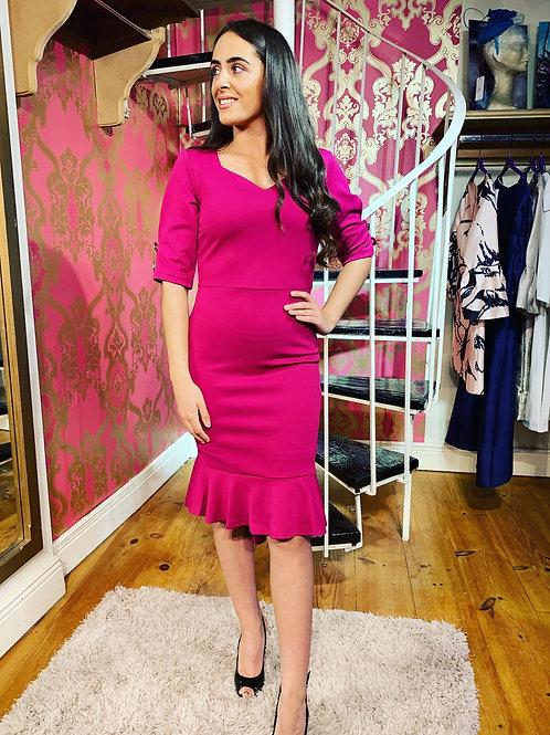 Majenta Jersey dress