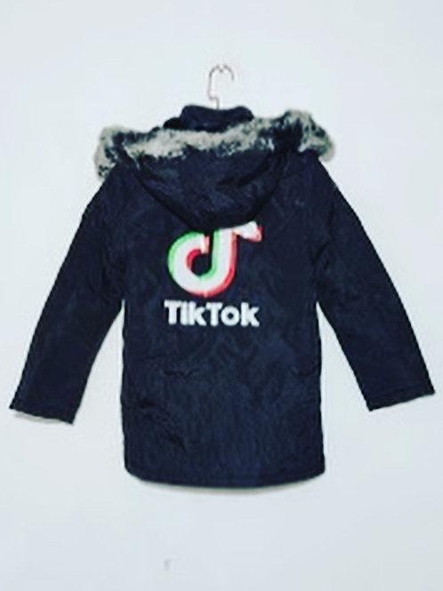 Tik tok childs coat