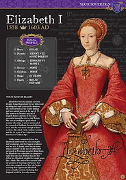 Issue 1 Layout Queen Elizabeth I