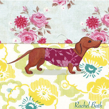 Sausage Dog by Rachel Bath