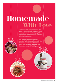 Page design Homemade With Love