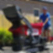 mini loader and motorised barrow