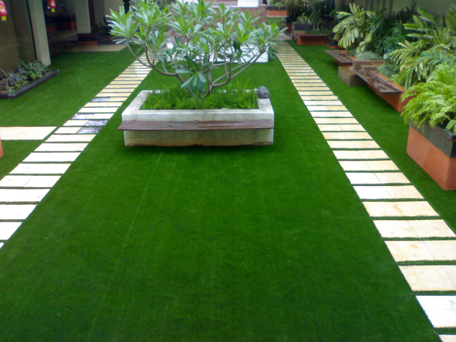 Artificial Backyard