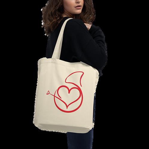 I (love) Horn Hangouts Tote Bag