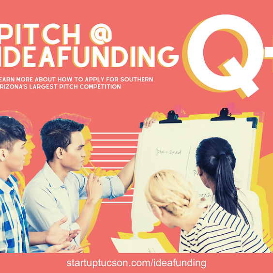 Q+A Pitching at IdeaFunding