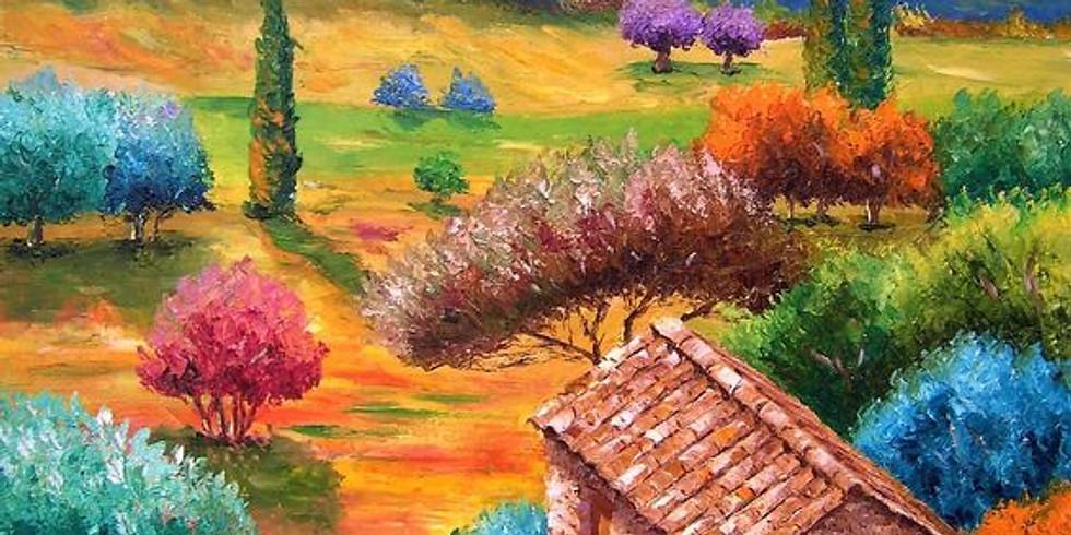 Радужный пейзаж    20 мая воскресенье   2000 руб