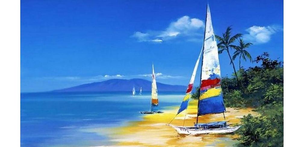 На пляже   20 июня воскресенье   2300 руб