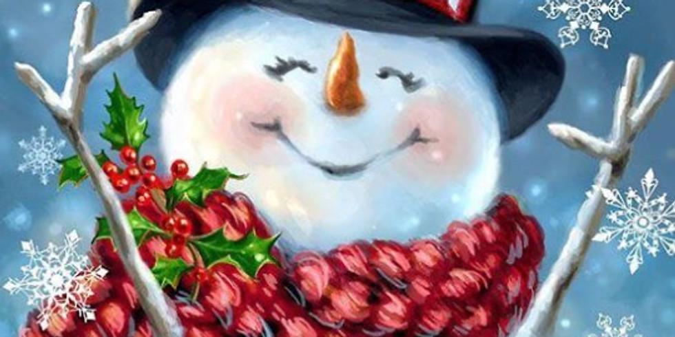 Счастливый снеговик   21 янв воскресенье