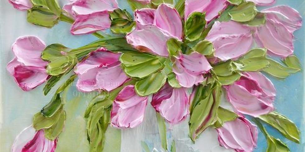 Объемные тюльпаны |  13 мая воскресенье | 2000 руб