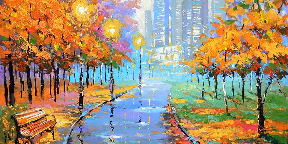Осень в городе   29 ноября четверг   1990 руб