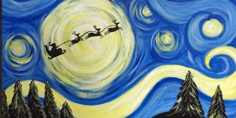 В стиле Ван Гога | 27 декабря четверг | 1990 руб