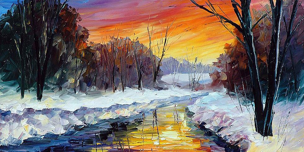 Закат в лесу | 12 января воскресенье | 2490 руб