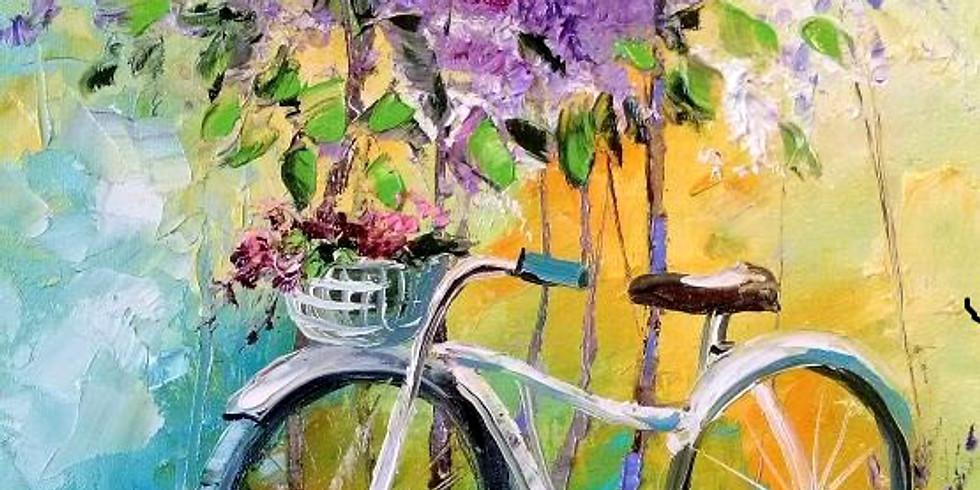 """""""Велосипед с сиренью"""" в ресторане Черетто"""