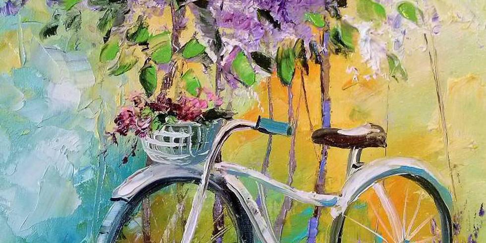 Лавандовый велосипед   5 марта вторник   1490 руб
