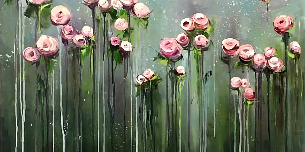 Объемные цветы | 14 апреля воскресенье | 1990 руб
